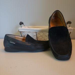 Suede mens shoes
